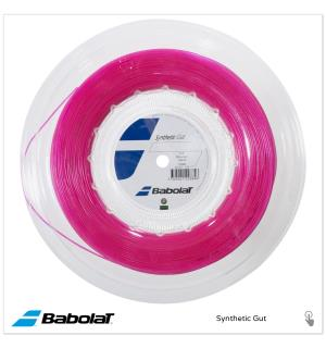 BABOLAT SYNTHETIC GUT ROSA 200M 130/16 Syntetic streng