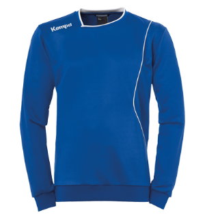 Kempa Curve Training Top Royal/Hvit 116 Teknisk genser