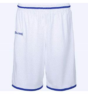 Spalding Move Shorts Hvit/Royal 116 Teknisk spilleshorts