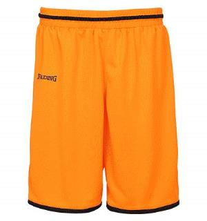 Spalding Move Shorts Oransj/Sort 116 Teknisk spilleshorts