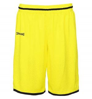Spalding Move Shorts Lime Gul/Sort S Teknisk spilleshorts