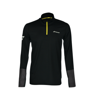 Babolat Core 1/2 Zip Herre Sort M Teknisk 1/2 zip